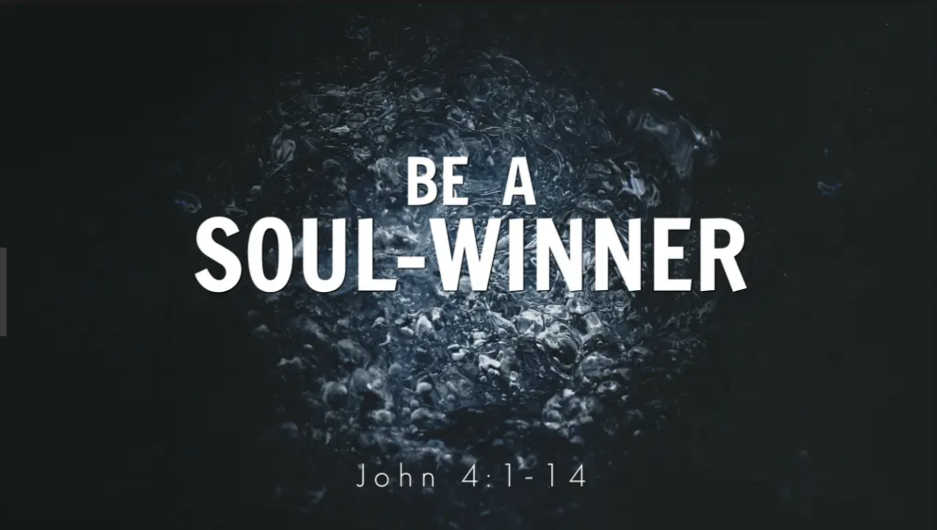 Do you know that God has called you to be a soulwinner?